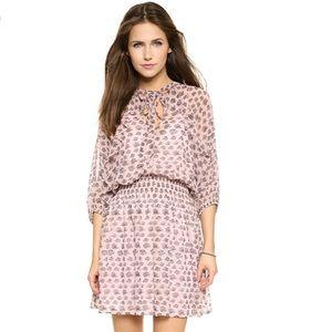 NWOT Rebecca Minkoff shadow mini dress in pink
